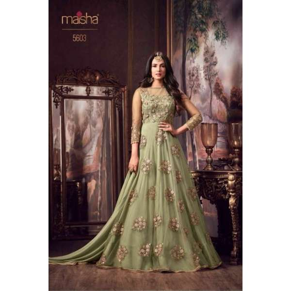 3c9acfe127aa Nile Green New Party Bridesmaid Wedding Dress Gown Collection 2018
