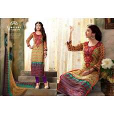 15603 B Pink And Purple Annie Straight Salwar Suit