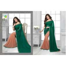 16448 Green Vinay Sheesha Star Walk Saree