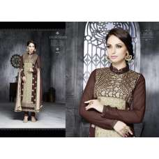 6202 Brown LEO Designer Party Wear Suit