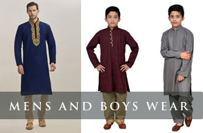 MENS/BOYS INDIAN SUITS