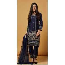 Navy Blue Indian Ethnic Readymade Suit