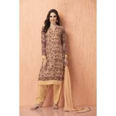 AC-94 CHIFFON AND AMERICAN CREPE FLORAL PRINTED READY MADE PAKISTANI STYLE SUIT