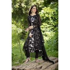 AC-141 BLACK ATTACH JACKET STYLE PRINTED DESIGNER READY MADE SUIT