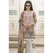 PINK FLORAL PRINTED SHIRT STYLISH PAKISTANI SUIT