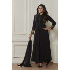 EXQUISITE BLACK READY MADE GOWN STYLE DRESS