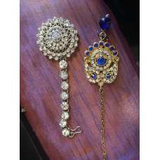 Royal Wedding Jewelry Kundan Mathapatti/Maang Tikka Bindiya