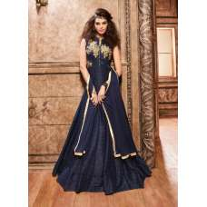 Z16003 Navy Blue Maisha Designer Eid & Party Wear Dress