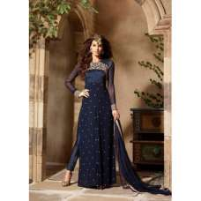 BEST SELLER 3103-E  NAVY BLUE MAISHA COPY INFINITY ADDICTION SUIT