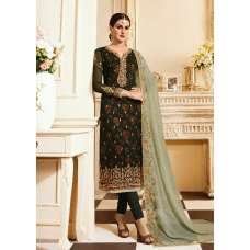 Green Designer Wedding Salwar Suit