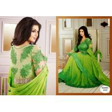 "GREEN FLASH AYESHA TAKIA ""HUSAN"" WEDDING WEAR DESIGNER DRESS"