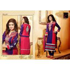 "Red and Purple AYESHA TAKIA ""BEGUM"" PARTY WEAR SHALWAR KAMEEZ"
