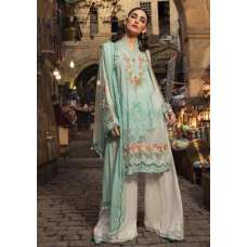 GREEN EMBROIDERED PAKISTANI DESIGNER READYMADE LAWN SUIT