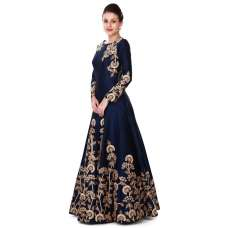 ETHNIC PARTY WEAR DESIGNER INDO WESTERN STYLE ANARKALI GOWN