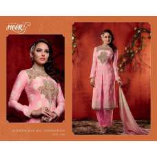 5606 ROSE QUARTZ PINK KIMORA HEER PARTY WEAR SALWAR KAMEEZ SUIT