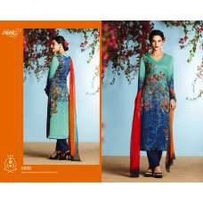 6908 BLUE KIMORA HEER DIGITAL PRINTED PARTY WEAR SALWAR SUIT