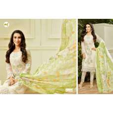 67008 WHITE MF EMBROID BY KARISHMA KAPOOR DESIGNER SUIT