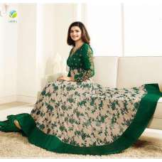 5737 GREEN KASEESH PRACHI GALAXY DESIGNER ANARKALI DRESS