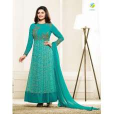 5733 TURQUOISE KASEESH PRACHI GALAXY DESIGNER ANARKALI DRESS