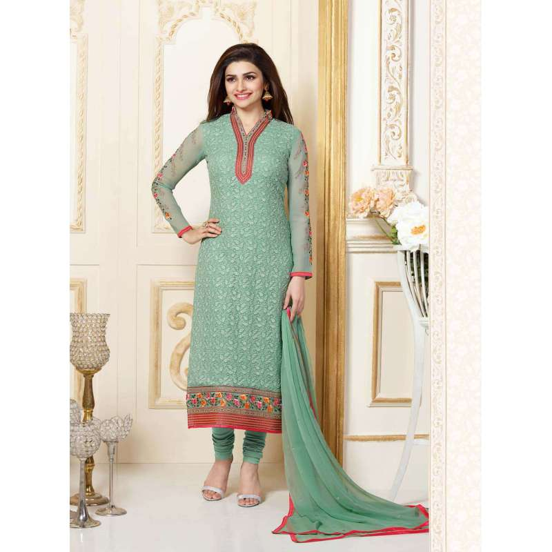 754fbfc8ad K3302 GREEN KASEESH PRACHI-15 PARTY WEAR SALWAR KAMEEZ SUIT | VINAY ...