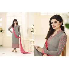 3218 GREY KASEESH PRACHI-12 PARTY WEAR SALWAR KAMEEZ SUIT