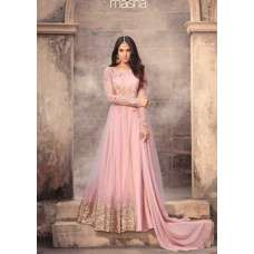 5203 PINK MAISHA ZUAAN WEDDING WEAR GOWN