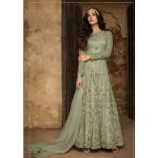 GREEN PAKISTANI WEDDING WEAR DRESS