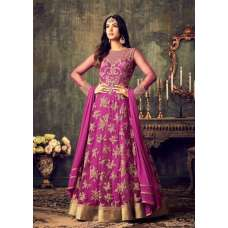 MZ4702 HOT PINK MAISHA AZARA BRIDAL WEDDING WEAR LEHENGA