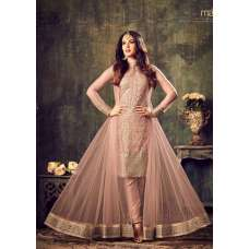 MZ4704 PEACH MAISHA AZARA BRIDAL WEDDING WEAR DRESS