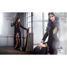M20001 BLACK  MASKEEN GEORGETTE BY MAISHA PARTY WEAR SUIT
