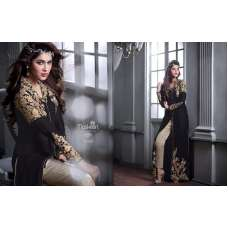 M20005 BLACK  MASKEEN GEORGETTE BY MAISHA PARTY WEAR SUIT