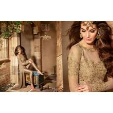 3102 GOLD MAISHA INFINITY EMBROIDERED EID SUIT