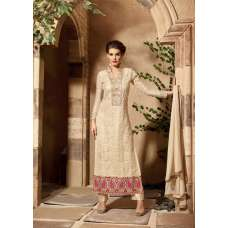 3106 CREAM MAISHA INFINITY EMBROIDERED EID SUIT