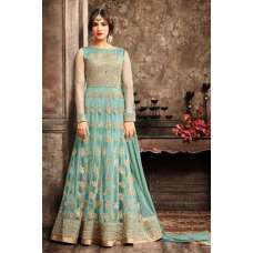 5103 TURQUOISE MAISHA JAWARIYA WEDDING WEAR BRIDAL LEHENGA
