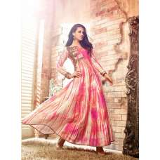 3404 PINK AND YELLOW MAISHA LAVISH 3 PARTY WEAR SUIT