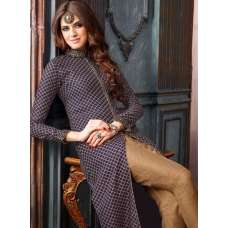 3202 DARK BLUE AND BROWN MAISHA LAVISH 2 PARTY WEAR SUIT