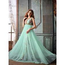 3203 MINT FLORAL MAISHA LAVISH 2 PARTY WEAR SUIT