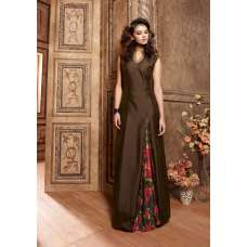 3609 DARK BROWN MAISHA MASKEEN SEEP WEDDING WEAR ANARKALI SUIT