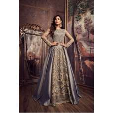 Grey New Party Bridesmaid Wedding Dress Gown Collection 2019