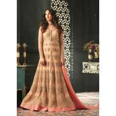 Blooming Dahlia Indian Party Wear Asian Anarkali Wedding Bridal Dress