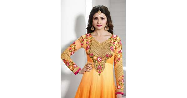 Henna Mehndi Shalwar Kameez Uk London : Party anarkali salwar suits for special mehndi and mayiun