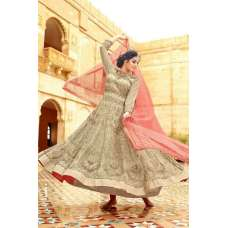 27003 BEIGE AND PINK MOHINI GLAMOUR LEHENGA SUIT