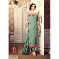 GREEN EVENING PARTY  WEAR INDIAN SALWAR SUIT