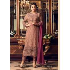 BROWN EVENING PARTY  WEAR INDIAN SALWAR SUIT