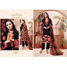 307 BLACK CAMBRIC COTTON AND LAWN SALWAR SUIT