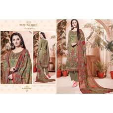 310 MEHNDI COLOUR CAMBRIC COTTON AND LAWN SALWAR SUIT