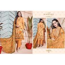309 ORANGE CAMBRIC COTTON AND LAWN SALWAR SUIT