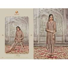 SJ5006 BROWN SAJAWAT MUMTAZ-2 EMBROIDERED SALWAR KAMEEZ