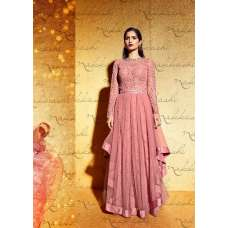 3034 PINK NAKKASHI GOLD DUST WEDDING WEAR LEHENGA