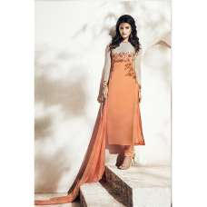 1002-A ROYAL Orange NAIRRA BY NAKKASHI PARTY WEAR SUIT